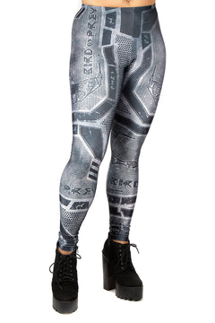 Star Trek Klingon Bird of Prey Leggings