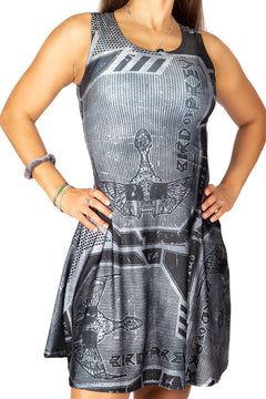 Star Trek Klingon Bird of Prey Dress