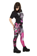 WWE Bret The Hitman Hart Leggings