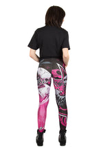 WWE Hitman Hart Leggings