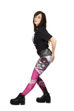 WWE The Hitman Leggings