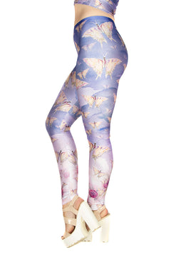 Claire Louise Floral Butterflies Leggings
