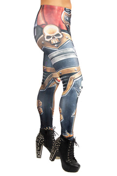 Games Workshop Warhammer Chaos Marines Grey Armour Leggings