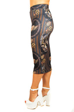 Anne Stokes Clockwork Dragon Pencil Skirt