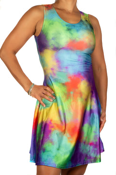 Colour Cloud Dress
