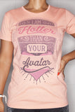 Avatar T-Shirt Ladies Coral