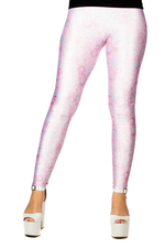 "Dungeons & Dragons ""Dice & Dragons"" Baby Pink and Blue Leggings"