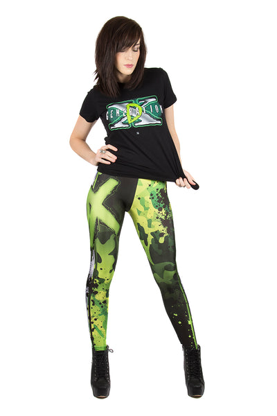 """Are You Ready"" D-Generation X DX WWE Leggings"