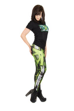 WWE D-Generation X Leggings made in the UK
