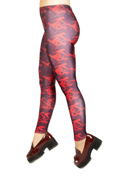 Dungeons & Dragons Red Logo Leggings
