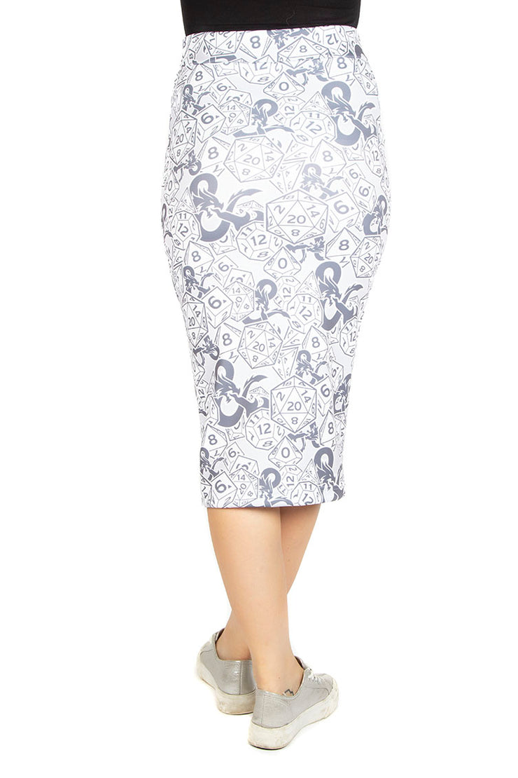 Official Dungeons & Dragons Dice & Dragons Pencil Skirt