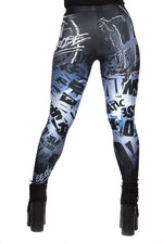 "WWE Dean Ambrose ""Unhinged"" Leggings"