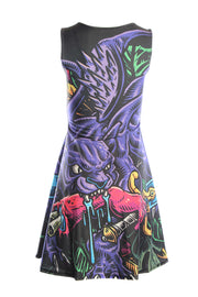 Officially Dungeons & Dragons Official Displacer Beast Skater Dress