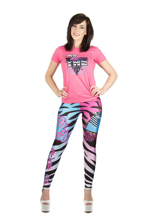 "KIDS WWE Dolph Ziggler ""Zig Zag"" Leggings"