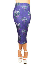Anne Stokes Dragon Beauty Pencil Skirt