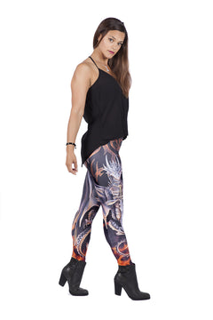 UK Leggings Dragon Anne Stokes