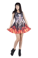 Anne Stokes Dragon Warrior Dress