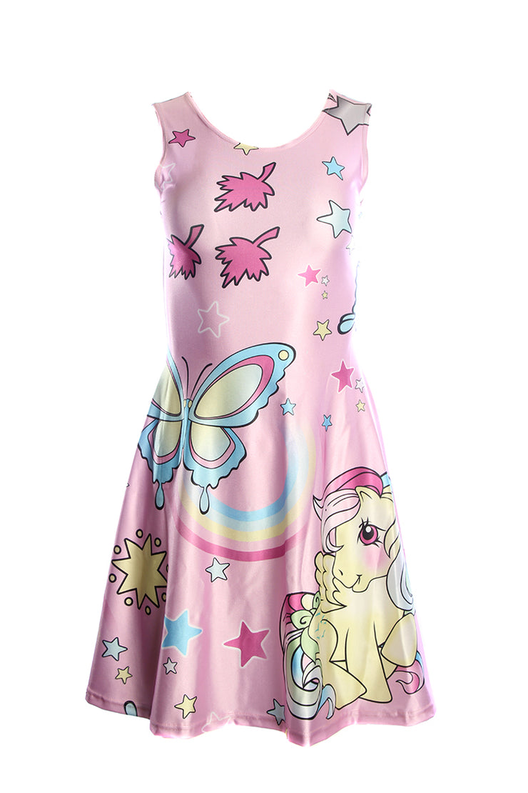 Official Hasbro My Little Pony Butterflies Retro Skater Dress