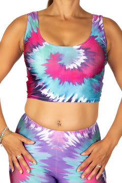 Festival Fashion Candy Stick Vest Crop Top