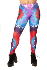 Festival Fashion Berry Crush Leggings