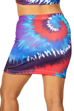 Festival Fashion Berry Crush Mini Skirt