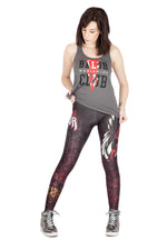 "WWE Finn Balor ""Demon King"" Leggings"