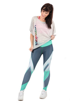 FIT Mint Full Length Fitness Leggings | WILD BANGARANG