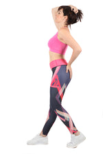 FIT Pink Full Length Fitness Leggings | WILD BANGARANG