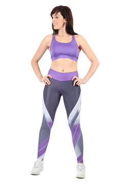 FIT Lilac Full Length Fitness Leggings | WILD BANGARANG