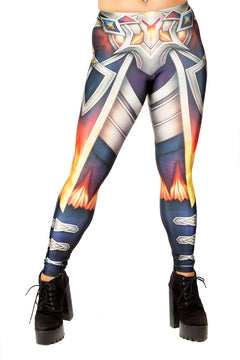 Guild Wars 2 Flamekissed Armour Leggings