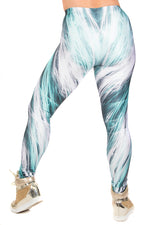 Galaxy Fractals Space Leggings