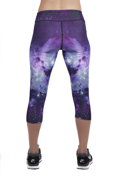 Galaxy Capris Leggings by Wild Bangarang