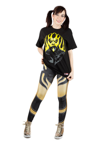 """Goldust"" Dustin Rhodes WWE Leggings"