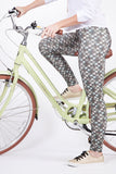 Retro Rides 'Green Dream' Bicycle Leggings | WILD BANGARANG
