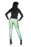 Green Dragon Skin Leggings