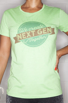 Next Gen T-Shirt Ladies Green