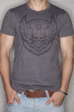 Logo T-Shirt Mens Grey