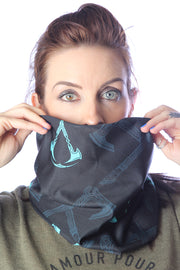 Official Assassin's Creed Valhalla Turquoise Logo Snood