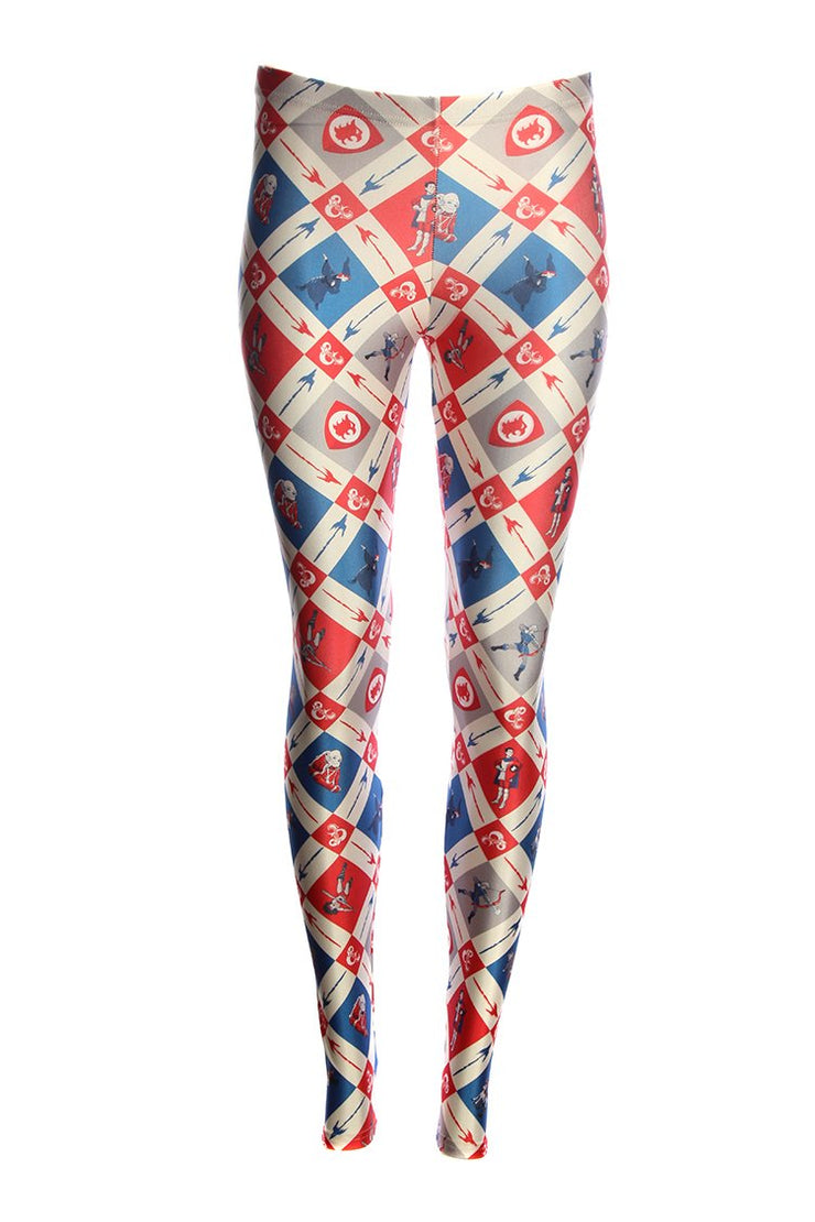 Official Dungeons & Dragons Retro Cartoon Leggings & Snood BUNDLE