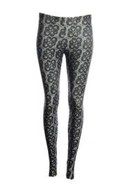 Official Dungeons & Dragons Grey Logo Leggings