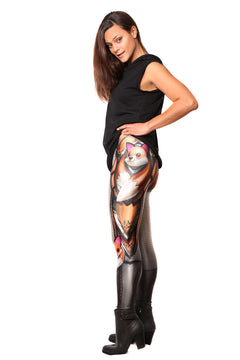UK Leggings Fantastic Mr Fox