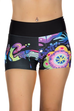 Jason Naylor LOVE Graffiti Art Shorts