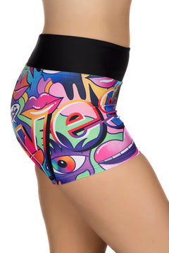 Jason Naylor YES Graffiti Art Shorts