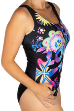 Jason Naylor LOVE Graffiti Art Swim Body Suit