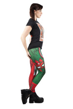 WWE Lucha Leggings