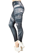 Star Trek The Next Generation Locutus of Borg Leggings