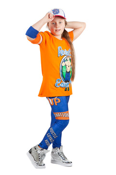 "KIDS WWE John Cena ""Cenation"" Leggings"