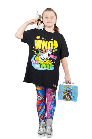 "KIDS ""BootyO's"" The New Day WWE Leggings"
