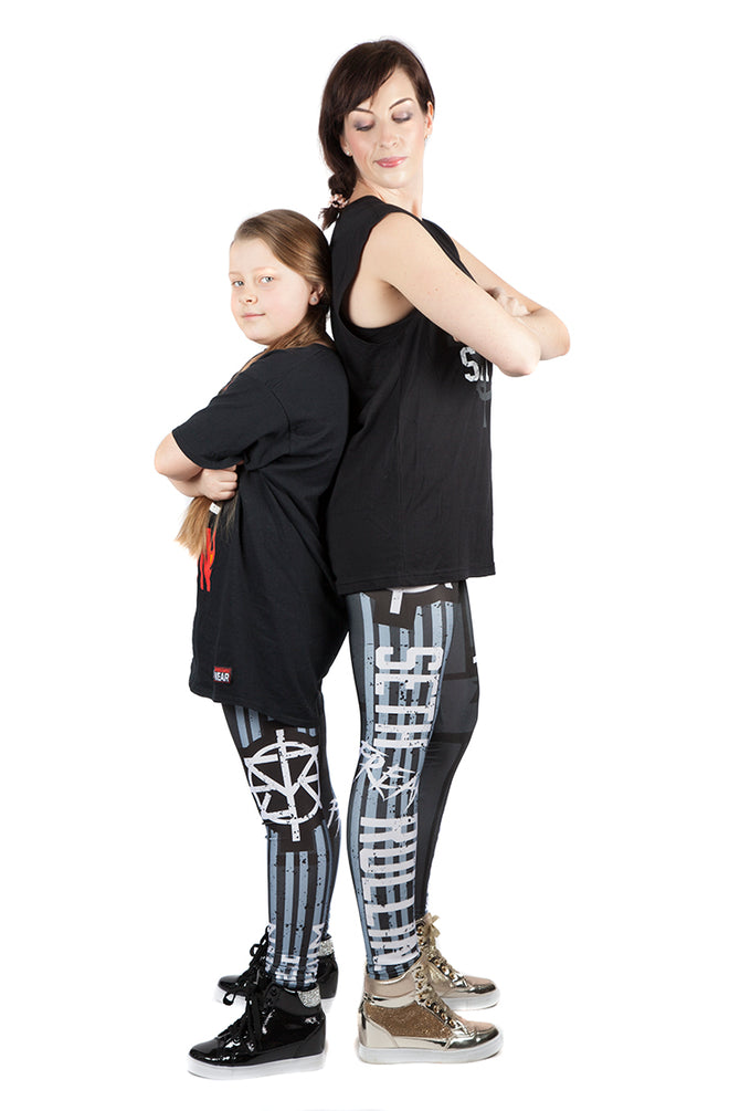 "KIDS WWE Seth Rollins ""KingSlayer"" Leggings"