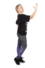 "KIDS ""Deadman"" Undertaker WWE Leggings"